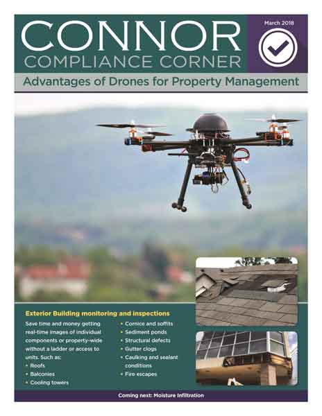 CONNOR Compliance Corner - Advantages of Drones for Property Management
